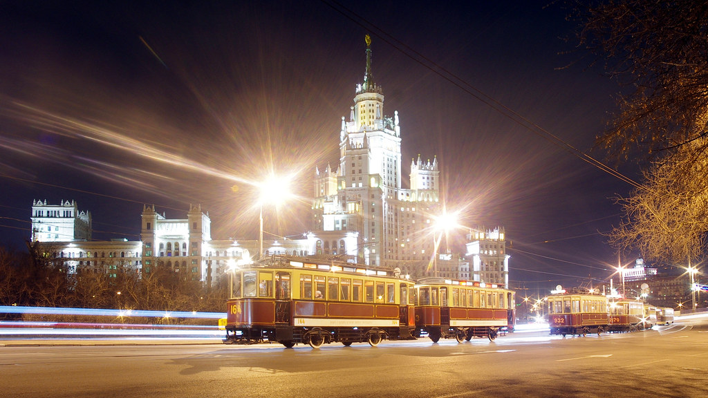 Moscow museum tram F+N