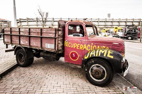 II Concentración de camiones