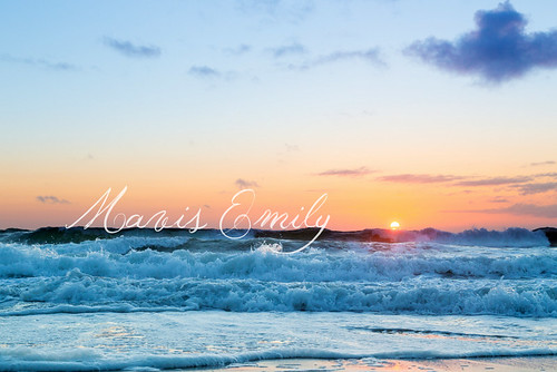 Mavis Emily's Seafoam Sunset