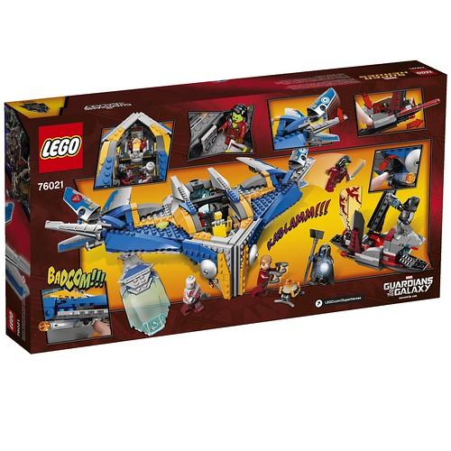 LEGO Marvel 76021 Back