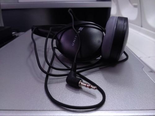 Economy class headphones