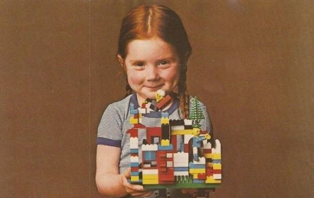 creative kids with LEGO