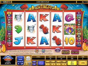 Fighting Fish Slot Machine