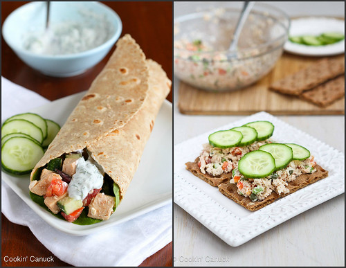 Light Lunch Recipes | cookincanuck.com #recipe