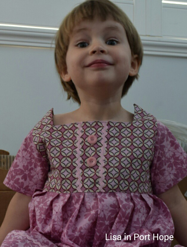 Sally Dress for Kids Clothes Week 2014