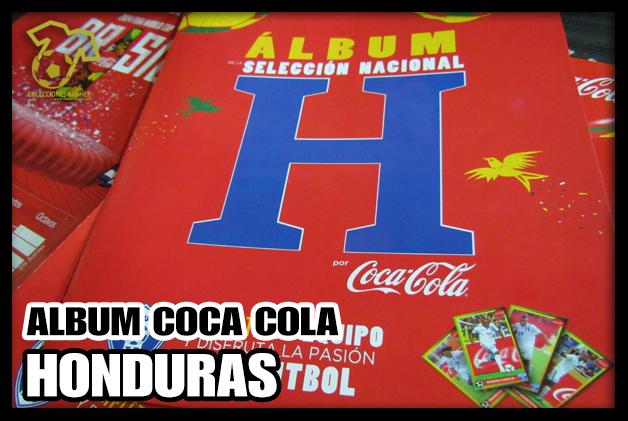 Álbum Coca Cola Selección de Honduras