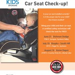 Summer Car Seat Checks