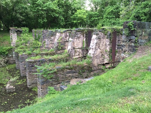Ruins of Shenandoah Pulp Mill at Harpers Ferry