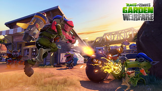 Plants vs. Zombies Garden Warfare выйдет на PS4