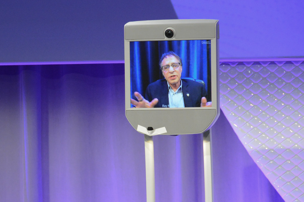 """A Conversation with Ray Kurzweil, Cofounder and Chancellor, Singularity University; Bob Pisani, Editor, CNBC """"On-Air-Stocks"""".."""