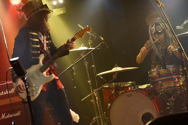 Coal Tar Moon live at 獅子王, Tokyo, 17 Jul 2015. 204