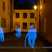 Got around to try my idea for the silhouettes I shot on tuesday today. A nice blue hour summer night in Stockholm with just a hint of rain in the air.