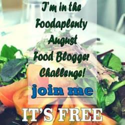 August 2015 Food Blogger Challenge