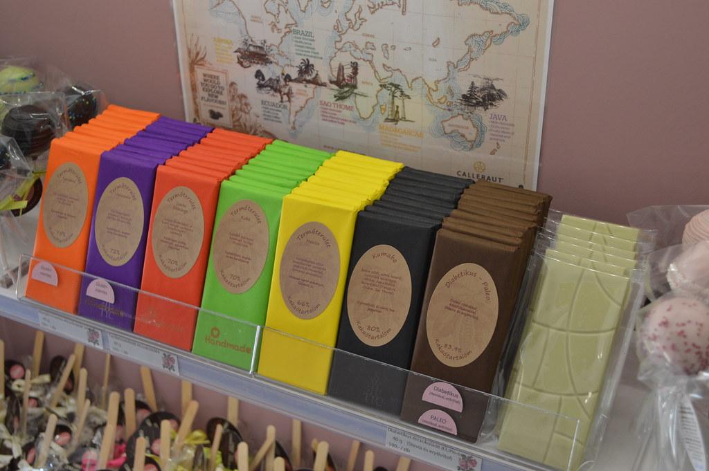 Területszelektált csokoládék