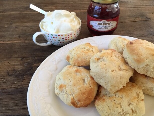 how to keep scones warm