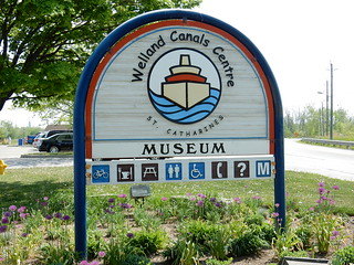 St Catherines Museum sign