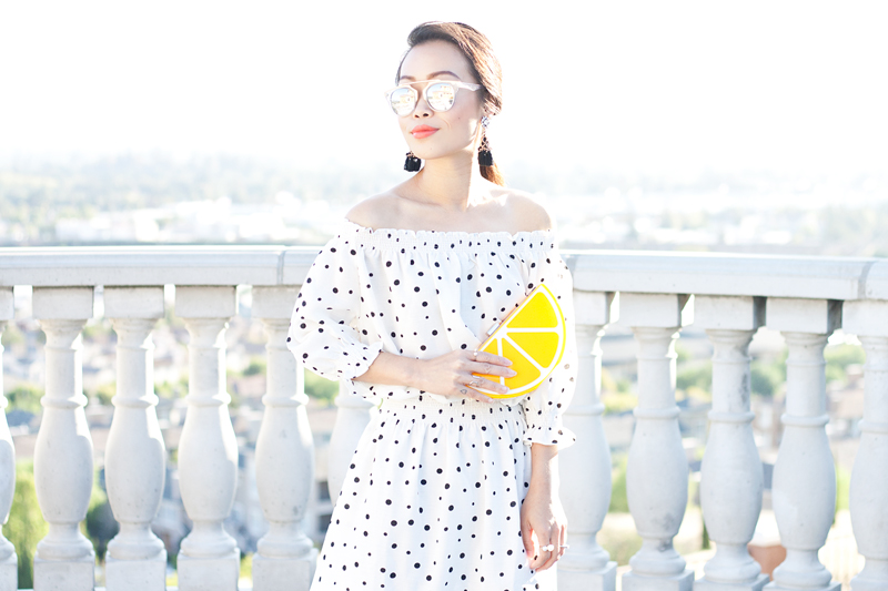 02-lemon-dots-off-shoulder-dress-sf-sanfrancisco-fashion-style