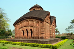 India - West Bengal - Bishnupur - Jorbangla Temple - 75