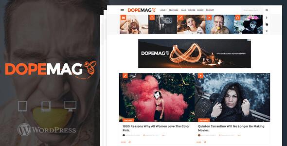 DopeMag WordPress Theme free download