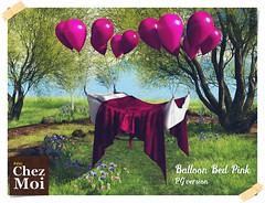 Ballon Bed Pink CHEZ MOI