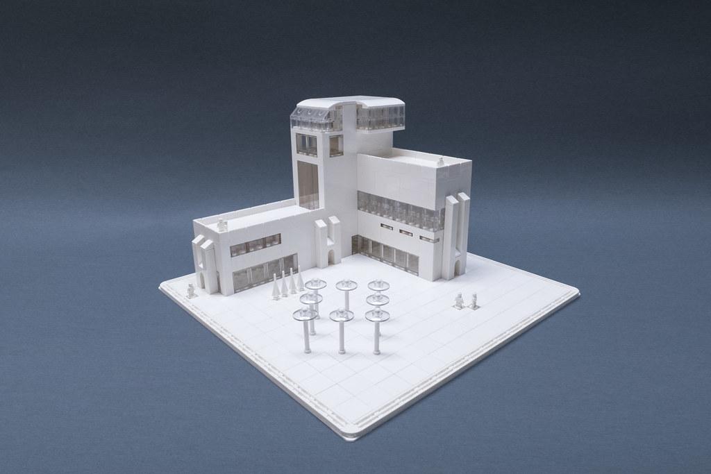 The Nano Life (custom built Lego model)