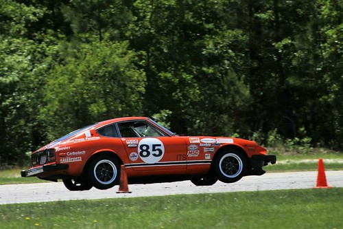 carolina motorsport park south datsun 280z z racecar race car jay miller