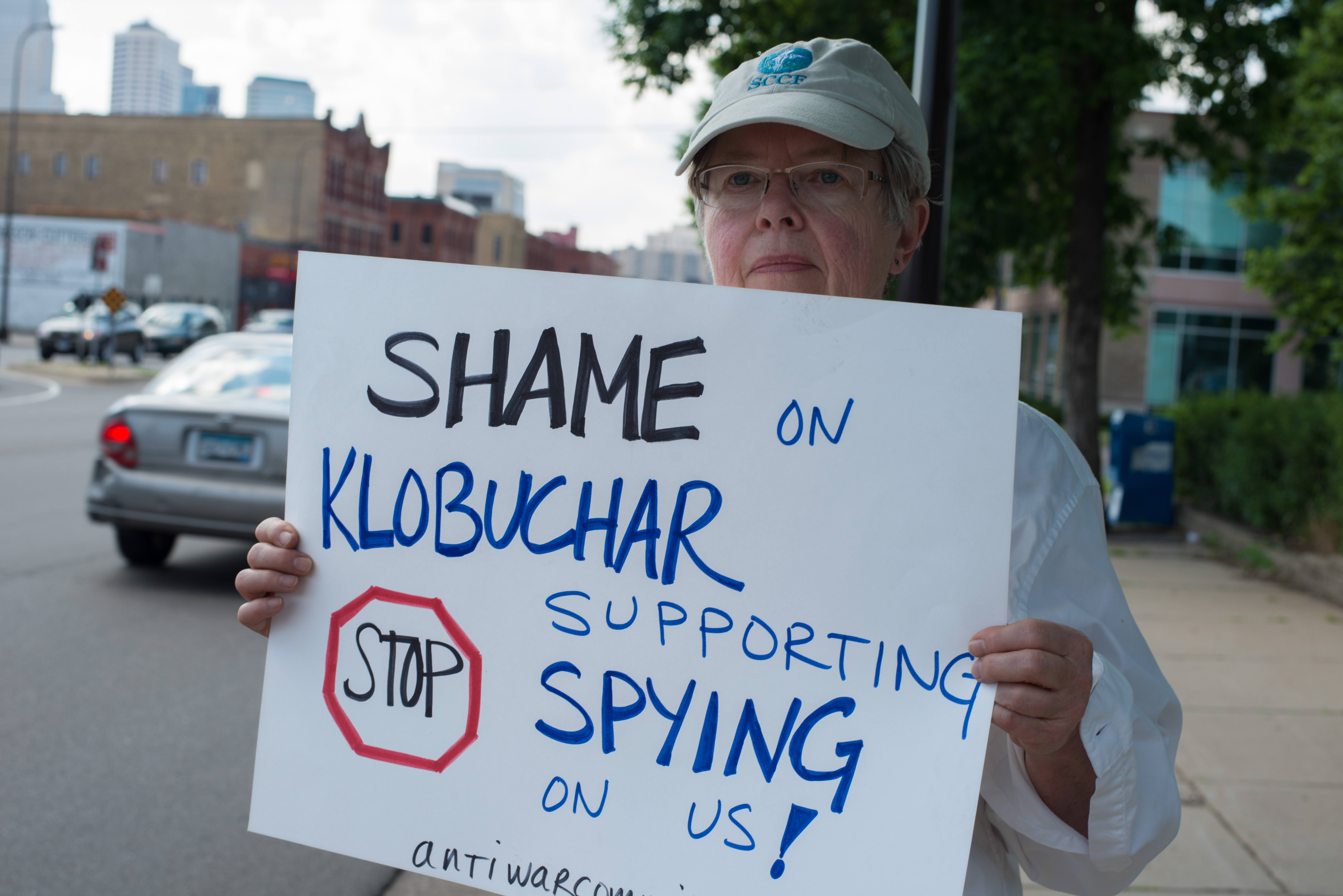 Protest against NSA surveillance