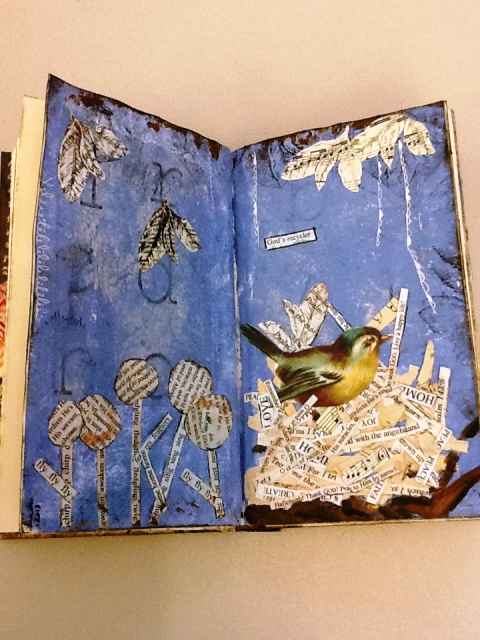 Altered Book Kingwood Library