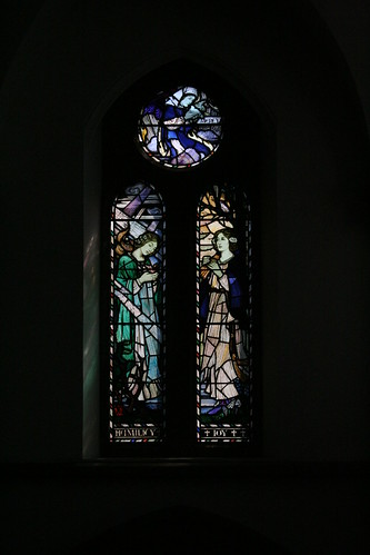 South clerestory window - late 1920s