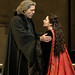 Thomas Hampson as Simon Boccanegra and Hibla Gerzmava as Amelia Grimaldi in Simon Boccanegra © ROH / Clive Barda 2013