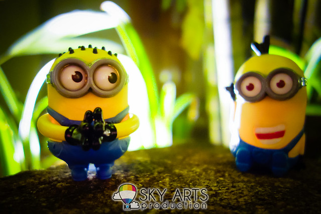 DespicableMe 2 Minions McD Toys Evil Minion Chomper Tom Googly Eyes Grabber Tim Giggling-03597