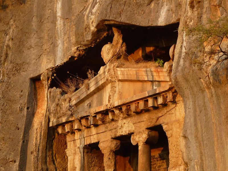 Turquie - jour 15 - Fethiye - 047 - Tombeau d'Amyntas