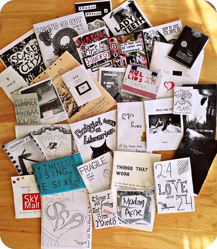 All Zines Received for the 24 Hour Zine Thing 2012 Event!