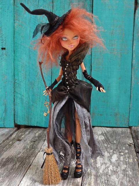 Как сделать куклу ведьма