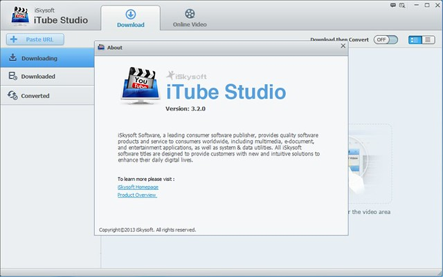 iSkysoft iTube Studio for Windows 3.2.0 注册码