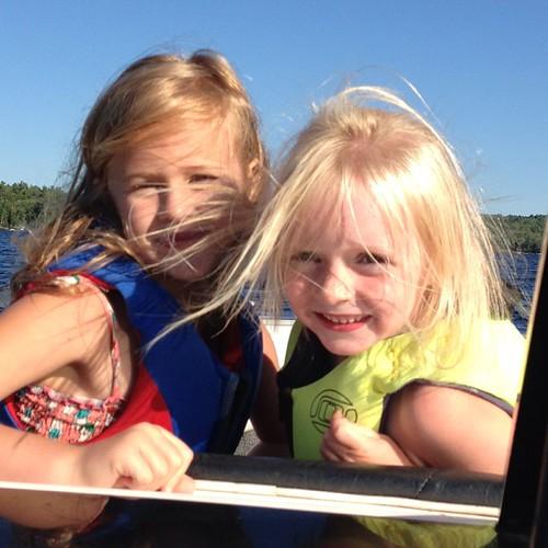 Little girls.