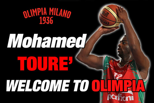 Olimpia is welcoming Mohamed Tourè