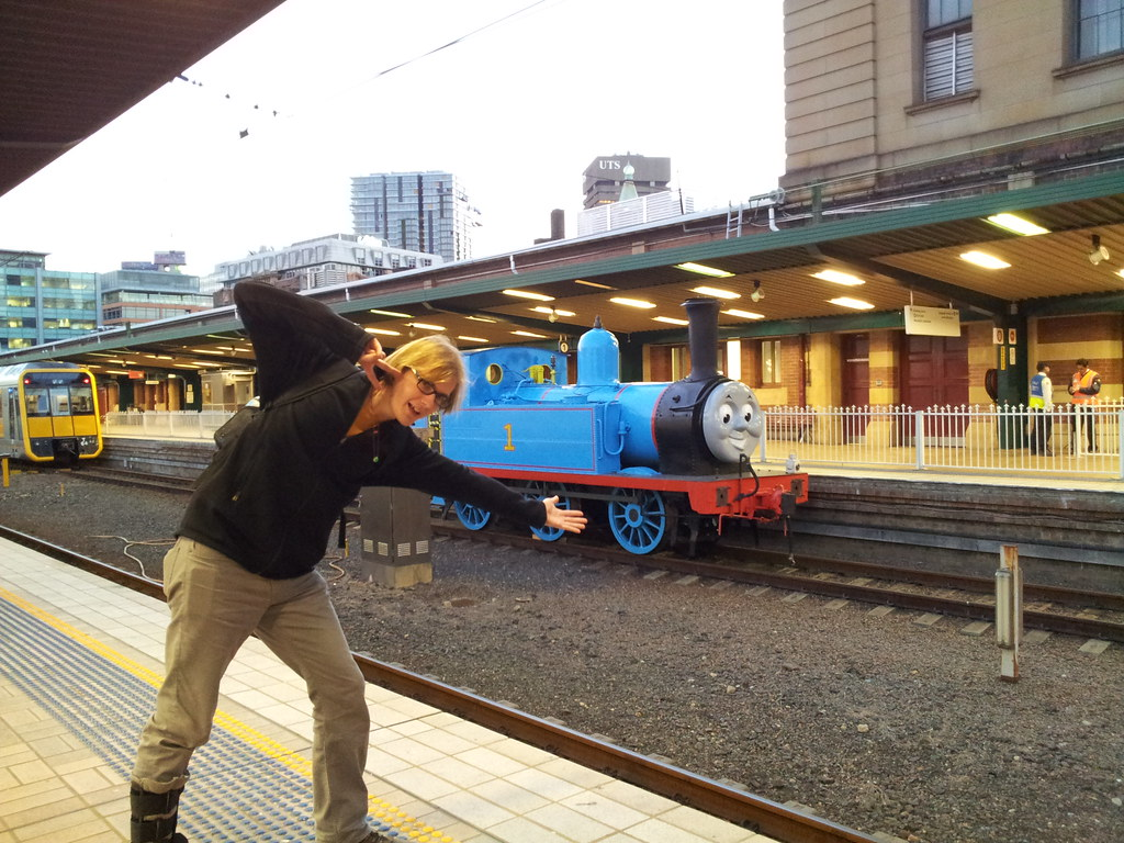 Thomas the Tank Engine at Central Station