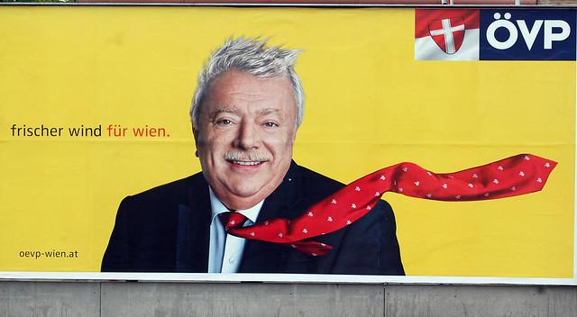 ÖVP Plakat zur Wiener Landtagswahl 2010