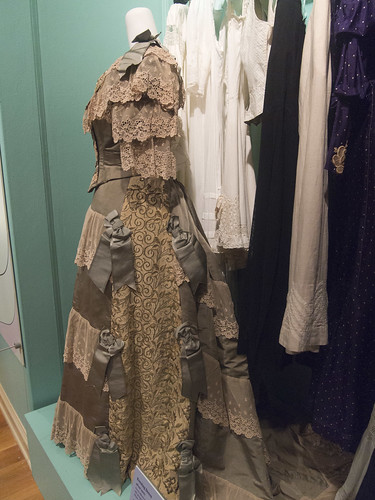 DAR Museum 1900 Evening Dress Remodeled