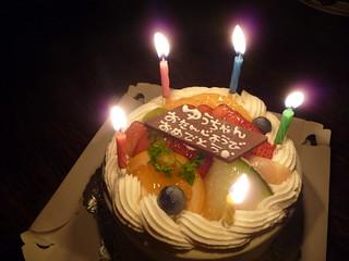 誕生日を記念して