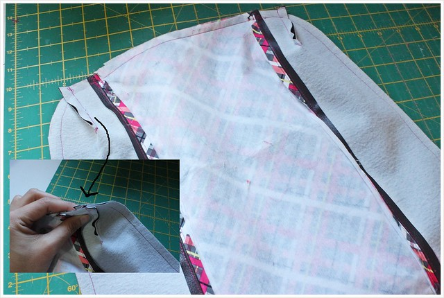 Tote tutorial _ faux leather _ nordika _ free tutorial_outer sewn