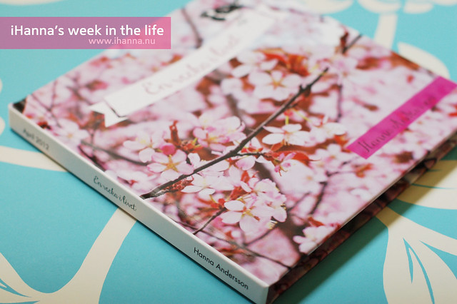 A Week in the Life | Photo Book Spine