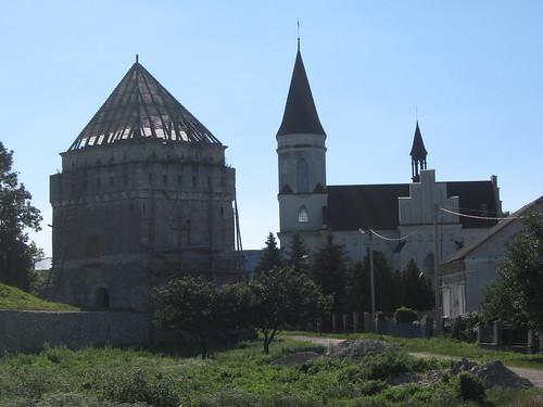 вежa Скалатського замку