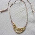 plaited necklace