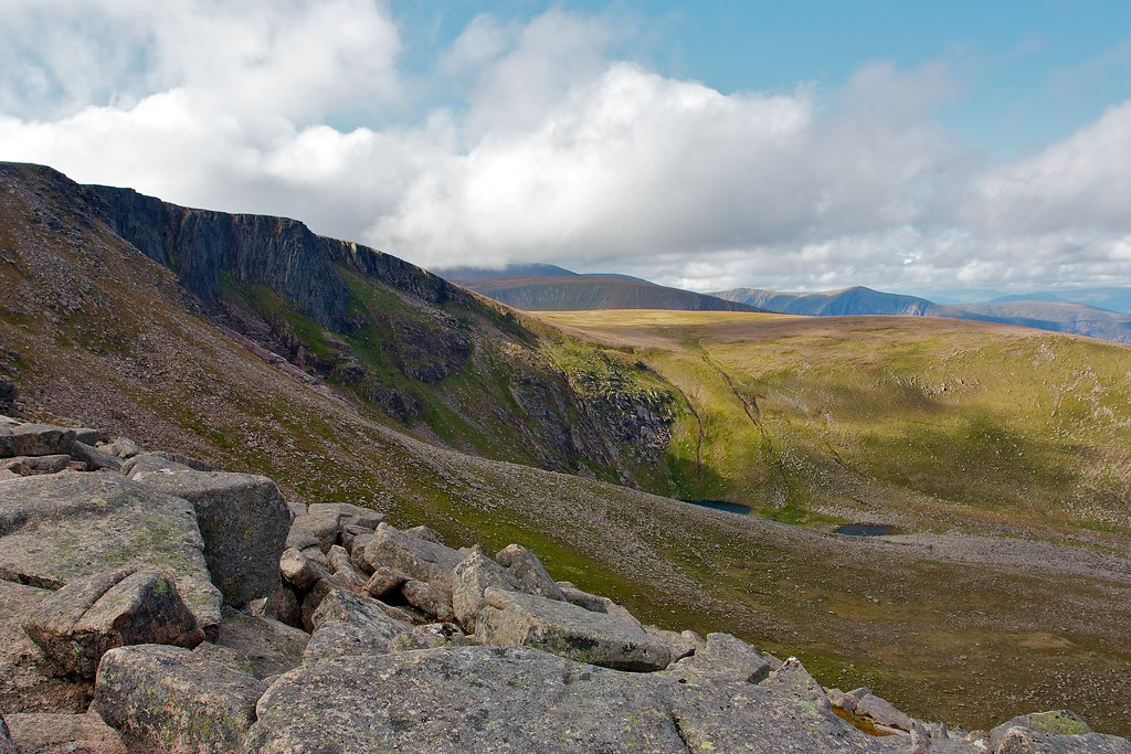 Across Coire an Lochain