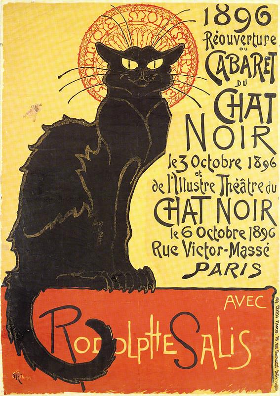 Cabaret du Chat Noir, Paris, poster