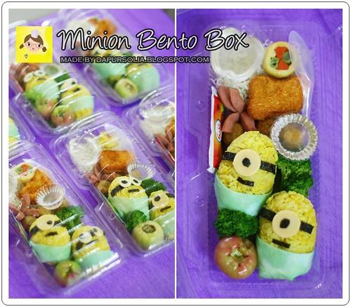 Minion Bento Box