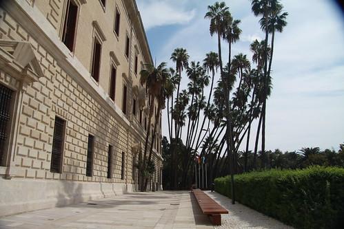 Fachada del palacio de la Aduana