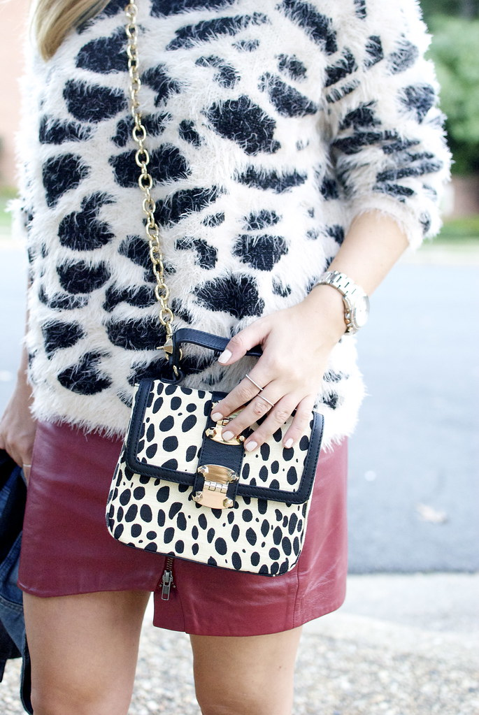 leopard style, fuzzy sweater, angora, fall sweaters, fall trends 2013